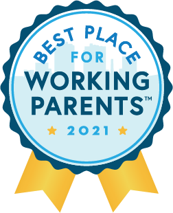 Best Place For Working Families 2020 Badge